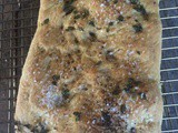 Herbed Focaccia from refrigerated pizza dough