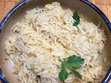 Lime Cilantro Rice a refreshing side dish