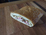 Muffuletta Sandwich perfect for picnics