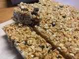 No-Bake Crispy Rice & Oat Granola Bars