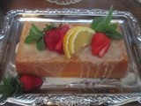 Out of the Ordinary Strawberry Shortcake starts w/ Luscious Lemon Cake