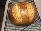 Parmesan Potato Bread - recipe from Betsy Oppenneer