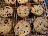 Pistachio Cranberry Icebox Cookies