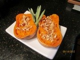 Power-Packed Butternut Squash with Walnuts & Maple Syrup