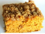 Pumpkin Snack or Coffee Cake with Brown Sugar-Pecan Glaze – 3 layers of autumn goodness