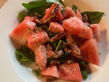 Refreshing Watermelon & Toasted Pecan Salad