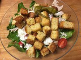 Revised Cornbread Salad – fat reduced & deconstructed