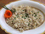 Rice and pasta team up in rice & pasta pilaf – our starchy side for Easter dinner