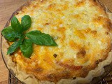 Ripe Tomato Pie - perfect at the peak of summer's tomato season