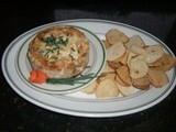 Savory Appetizer  -- Blue Cheese, Bacon & Onion Cheesecake