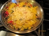 """Scrumptious"" Spaghetti Squash  – a Side Dish without Carbs"
