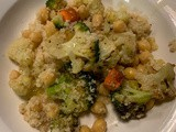 Sheet Pan Roasted Veggie Couscous