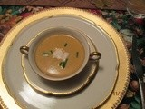 Start with — Butternut Squash Soup with Cider Cream