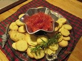 Tomato Jam w/ Rosemary Cookies  -- a Ks. 4-h Found. Gourmet Get Away recipe