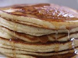 Whole Grain Oat Nut & Cinnamon Pancakes