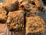 Wholegrain Jam Squares - a vintage recipe from Quaker Oats