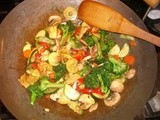 Woks For Dinner? Chicken Stir-Fry