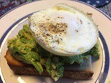 Yes we like . . . Green Eggs on Toast