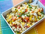 Spicy Grilled Corn Salad