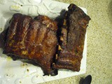 Sweetly Smoked Barbeque Ribs