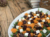 Cumin-Spiced Roasted Beetroot and Pumpkin Salad with Arugula