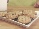 Oatmeal Cranberry-Almond and White Chocolate Cookies