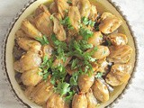 Stuffed Onion and Vine Leaves (Iraqi Style)