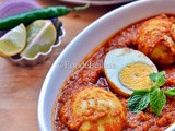 Egg Curry Version ii and Eggless Sheermal Made In Tandoor