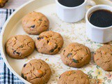 Buckwheat Pumpkin Seeds Chocolate Cookies
