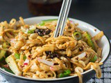 Chinese Style Cold Sesame Noodles
