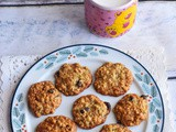 Oats Cranberry Banana Soft Cookies,