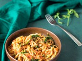 One Pot Spaghetti with Rocket Leaves