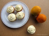 Orange Cupcakes with Orange Buttercream Frosting