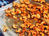 Spiced Roasted Cashew Nuts