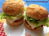 Sweet Potato Pattice Burger
