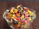 Black Bean, Sweet Pepper, and Citrus Salad