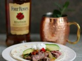 Bourbon-Lime Fajitas - and a cocktail to match