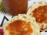 Chunky Peach Jam with Brown Sugar and Rum #canbassador