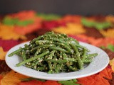 Green Beans with Sesame Dressing (Ingen No Goma Ae)