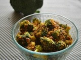 Broccoli Masala Stir Fry | Broccoli Indian Recipe