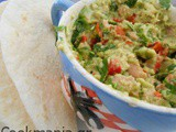 Light tuna salad with avocado