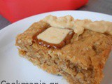 Peanut butter bars with Praline chocolates