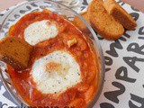 Refried bean soup with mozzarella