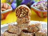 Dates roll recipe / khajoor katri - sugar free sweet
