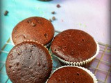 Eggless chocolate cupcake recipe/eggless chocolate muffin recipe