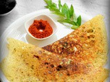 Oats dosa recipe / instant oats dosa recipe - indian oats recipe