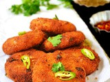 Paneer cutlet recipe / paneer tikki - easy paneer snacks recipe