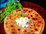Stuffed cabbage paratha recipe / patta gobi paratha
