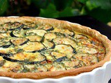 Courgettes and Dill Quiche