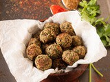 Black Chickpea Falafel Bites (Baked) – Diabetic friendly Thursdays